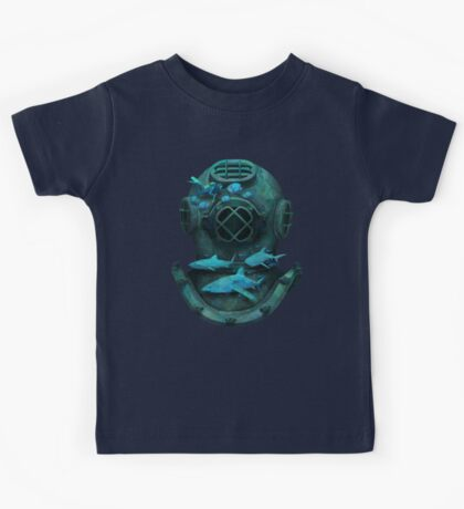 Deep diving Kids Tee