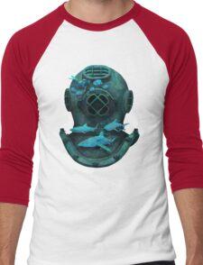 Deep diving Men's Baseball ¾ T-Shirt