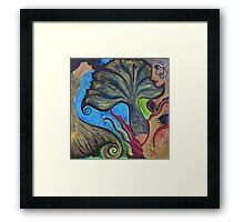 Swallowing Beauty Framed Print