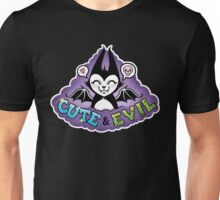 Cute and Evil -Purple Unisex T-Shirt