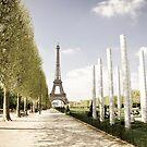 Europe: Paris, Eiffel Tower by Scott G Trenorden