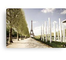 Europe: Paris, Eiffel Tower Canvas Print