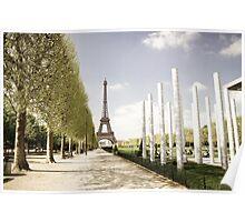 Europe: Paris, Eiffel Tower Poster