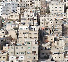 Amman, Jordan by Mian Akif Saghir Ahmad