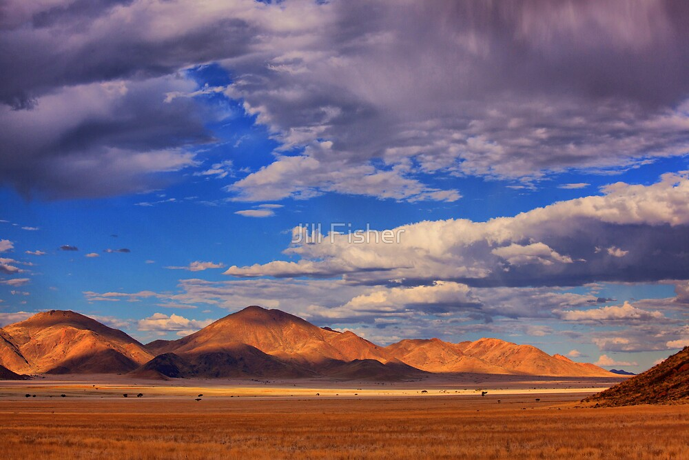 Rolling Clouds Blanket the Sky by Jill Fisher