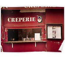 Europe: Paris, Creperie Poster