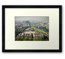 Europe: Paris, Eiffel Tower Views Framed Print