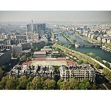 Europe: Paris, Eiffel Tower Views Photographic Print