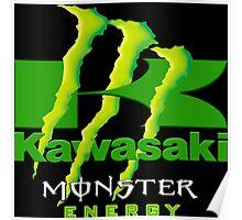 Kawasaki Racing Monster Energy Team Poster