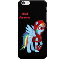 Rainbow Dash Red Arrow iPhone Case/Skin