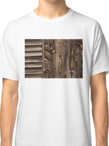 Weathered Wooden Abstracts - Three Classic T-Shirt