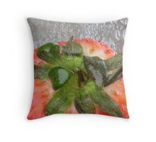 Berry Bubbles Throw Pillow