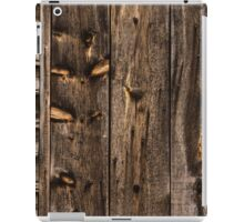 Weathered Wooden Abstracts - 3 iPad Case/Skin