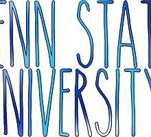 Penn State  by linnnna