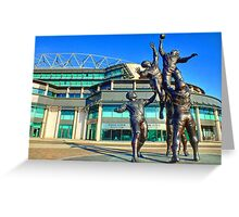 Twickenham Stadium - The Home of English Rugby - HDR Greeting Card