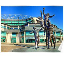 Twickenham Stadium - The Home of English Rugby - HDR Poster