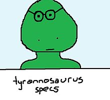 tyrannosaurus specs by paintbydumbers