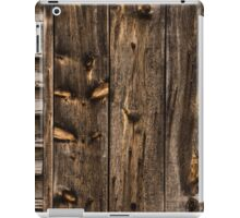Weathered Wooden Abstracts - 1 iPad Case/Skin