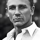 Daniel Craig Digital Portrait by David Alexander Elder