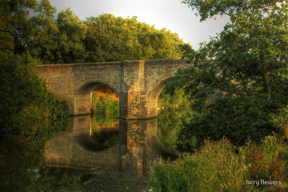 Teston Bridge by larry flewers