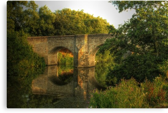 Teston Bridge by larry flewers