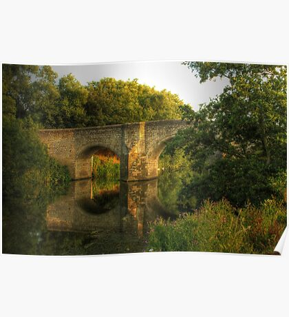 Teston Bridge Poster