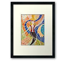 Mayan Dancer Framed Print