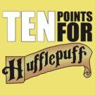 10 Points for Hufflepuff! (Banner) by RobertSchmuck