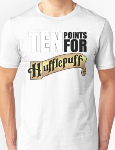 10 Points for Hufflepuff! (Banner) T-Shirt