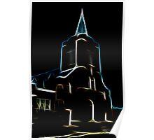 Shimmering Church Poster