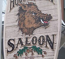 Hog's Breath Saloon-Key West Florida by anneharpen
