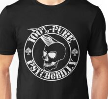 Pure Psychobilly - White Stamp Unisex T-Shirt