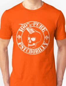 Pure Psychobilly - White Stamp T-Shirt