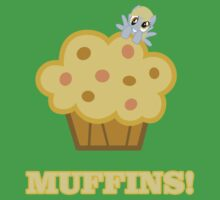 Derpy (Ditzy Doo) - Muffins! - (My Little Pony Friendship is Magic) Baby Tee