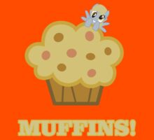 Derpy (Ditzy Doo) - Muffins! - (My Little Pony Friendship is Magic) by DarkArrow