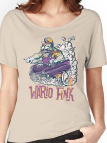Wario Fink w/Text Women's Relaxed Fit T-Shirt