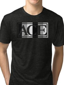 Ace Pride (Purple) Tri-blend T-Shirt