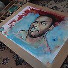 Self Portrait - WIP by edy4sure
