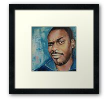 Self-Portrait - Artist In Focus Mode Framed Print