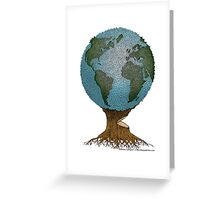 World Tree Greeting Card