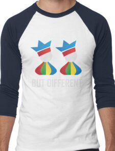 Same Same - But Different (Unisex) Men's Baseball ¾ T-Shirt