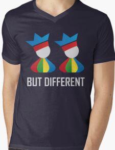 Same Same - But Different (Unisex) Mens V-Neck T-Shirt