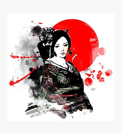 Japan Kyoto Geisha Photographic Print