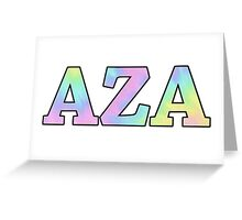 AZA  Greeting Card