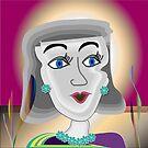 The Hostess by IrisGelbart