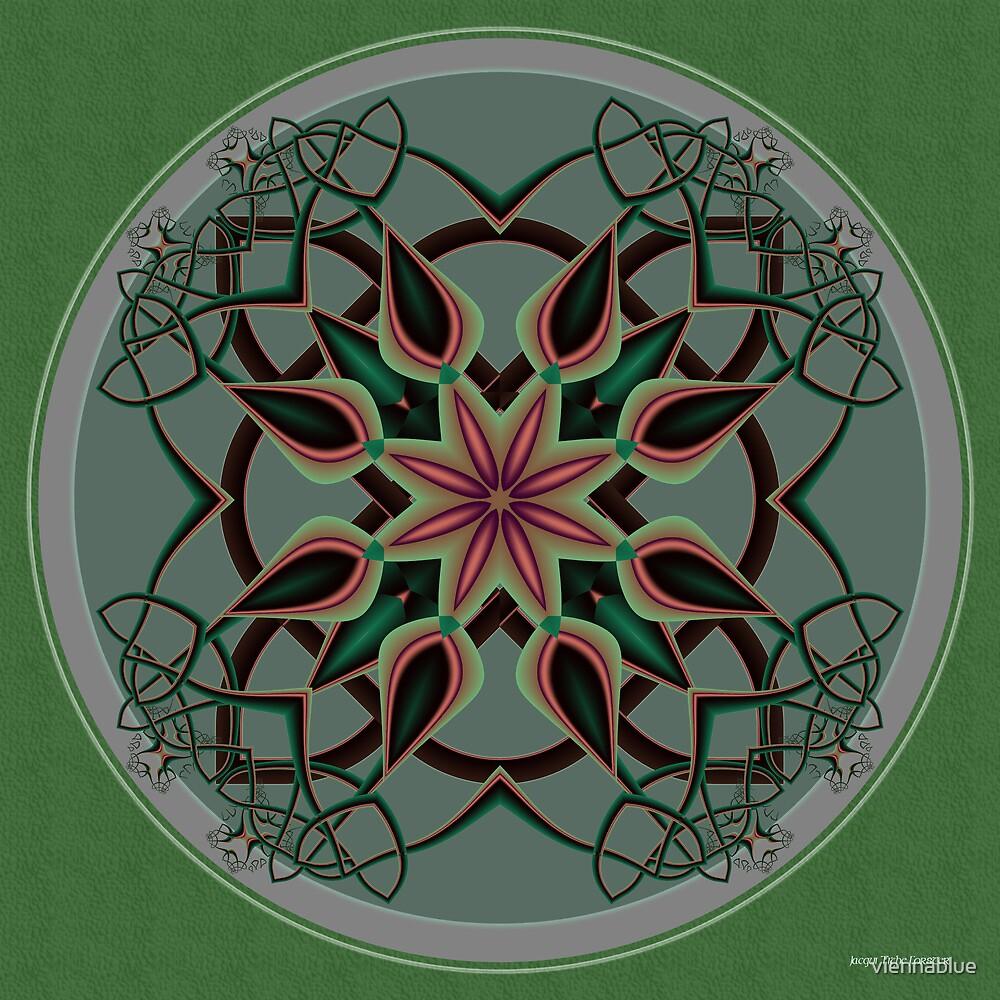 Celtic Mandala II by viennablue