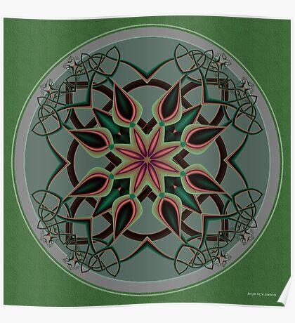 Celtic Mandala II Poster