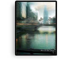 MY KIND OF TOWN CHICAGO IS...2 Canvas Print
