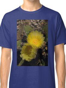 Gossamer Petals - Twin Cactus Blooms Classic T-Shirt