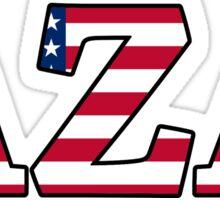 AZA America Sticker
